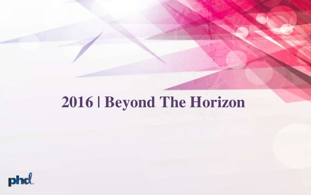 2016 | Beyond The Horizon