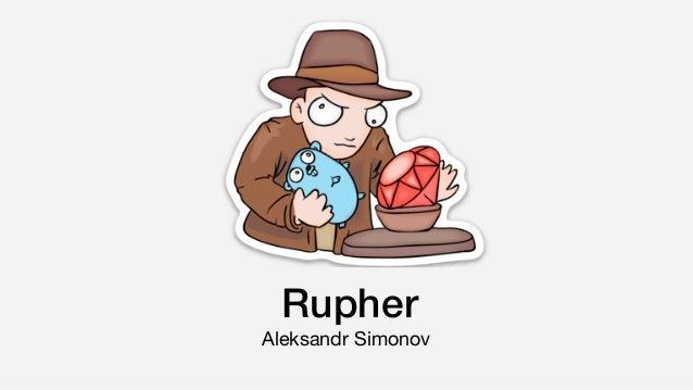 Rupher Aleksandr Simonov