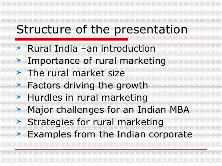 mba notes for rural marketing Hey guys i have got some good notes on rural marketing advertisements pls mail me the rural marketing notes i need them (mba-marketing speaks about his.