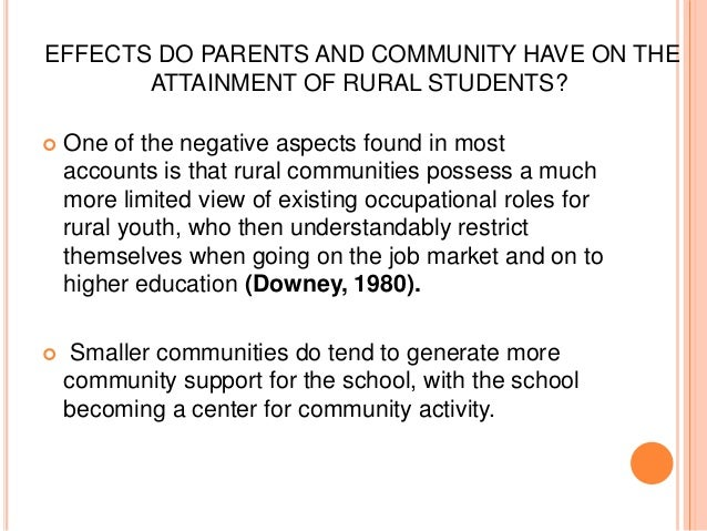 the influence of rural electrification on student performance Lions of dollars in rural electrification, targeting economic growth and poverty  student performance, it could affect the intensive margin of.