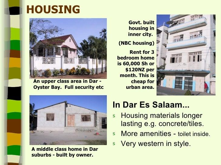 Tanzania Urbanvrural