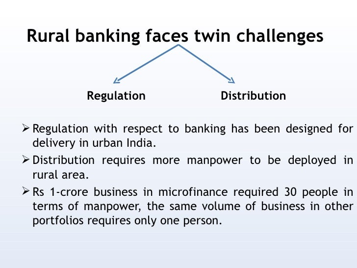 Essay on rural banking