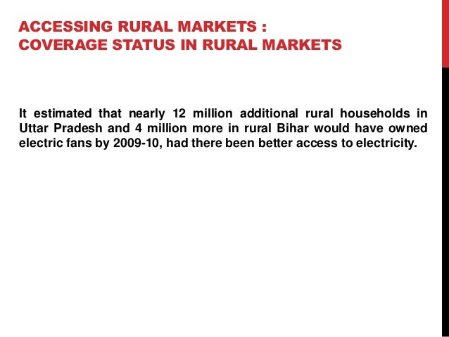 rural marketing of consumer durables Posts about rural marketing, success factors, non durable products written by umeshkumar4ijr  about consumer perceptions and attitudes towards branded packaged .
