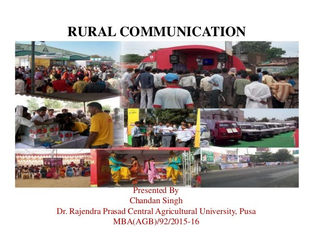 information technology and rural marketing in Can information and communications technology applications contribute to poverty reduction lessons from rural india april 2003 simone cecchini a and christopher scott b.