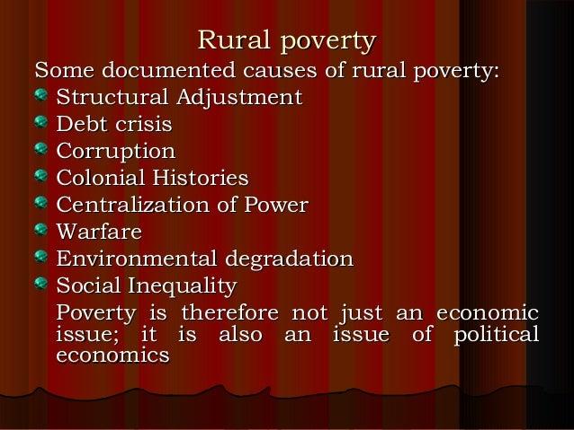 reasons for rural development