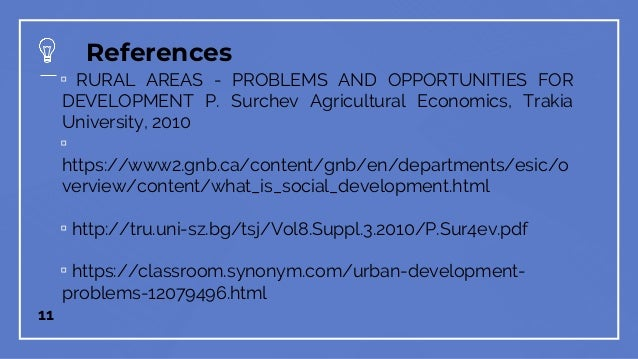 Philippine Rural Development Problems Issues And Directions
