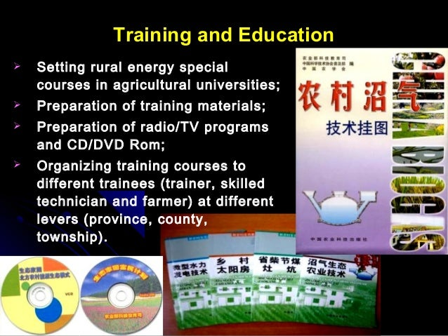 Rural Energy Development And Education Of China
