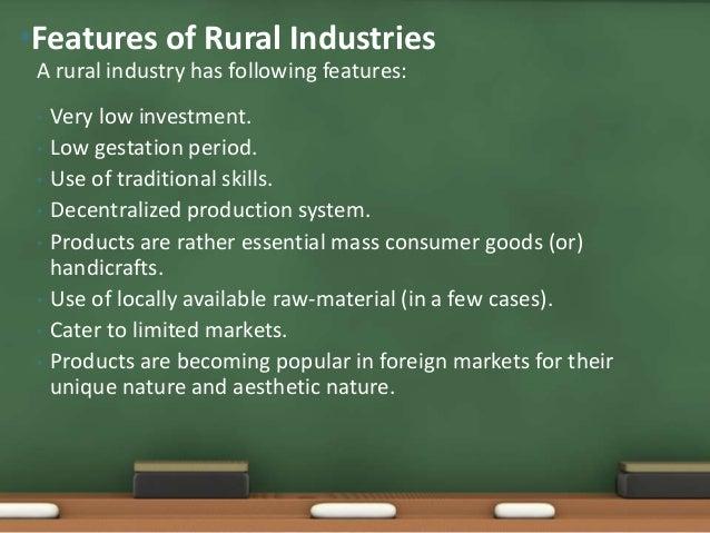 Rural entreprneurship one key to rural