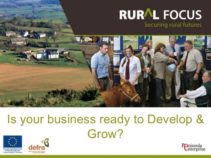 Is your business ready to Develop & Grow?