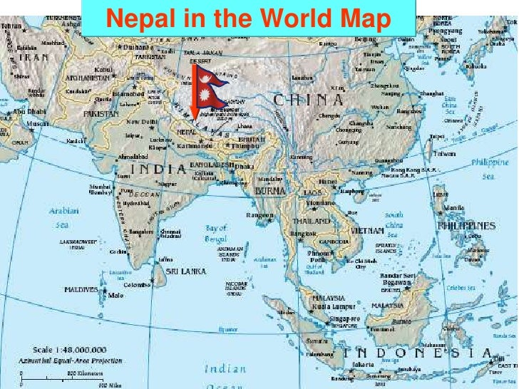 Rural infrastructure development in nepal a prospect and opportunity nepal in the world map sciox Gallery