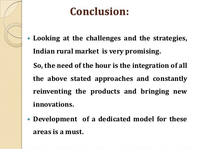 marketing practices in rural india Marketing practices of rural micro and small businesses in ghana: the role of public policy  the majority of the studies are conducted in india (4 out of 12).