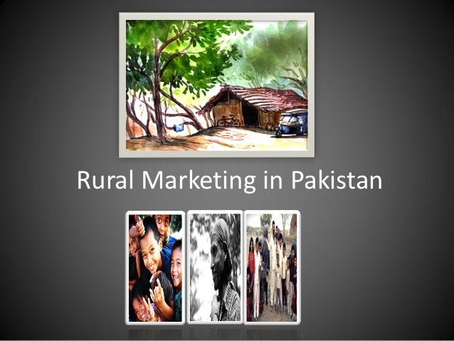Rural Marketing in Pakistan