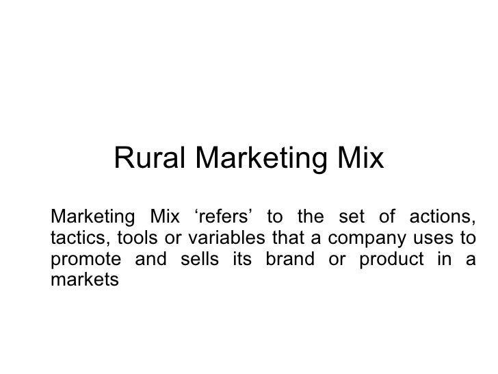 English Sample Essays Rural Marketing Mix Marketing Mix Refers To The Set Of Actions Tactics   Reflective Essay On High School also Sample High School Essay Rural Marketing Mix Essay Paper Writing Service