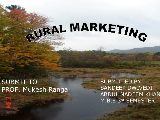 SUBMIT TO            SUBMITTED BYPROF. Mukesh Ranga   SANDEEP DWIVEDI                     ABDUL NADEEM KHAN               ...