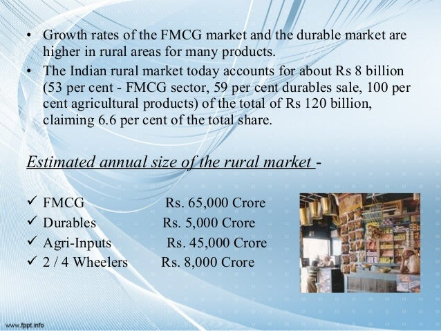 growth scenario of rural marketing in Many corporates have been trying get a grip on rural market providing volume growth  rural in the present scenario  24261592 introduction to rural marketing.