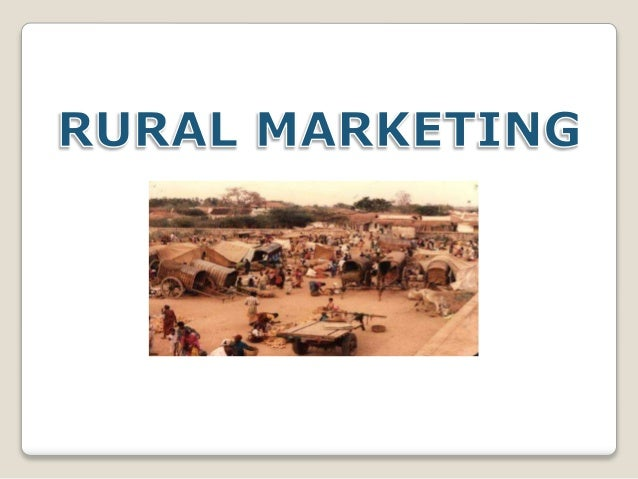 Rural marketing potentials and strategies