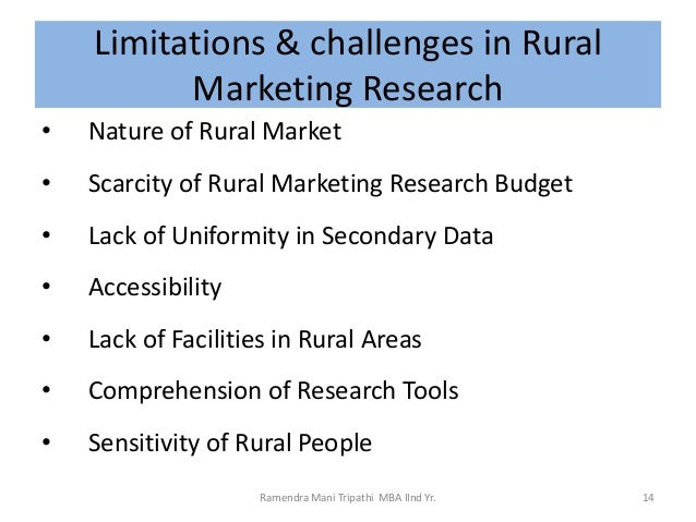 rural marketing in india research paper In this paper the diverse research papers have been collected from various differences in requirements for marketing strategies in rural india.