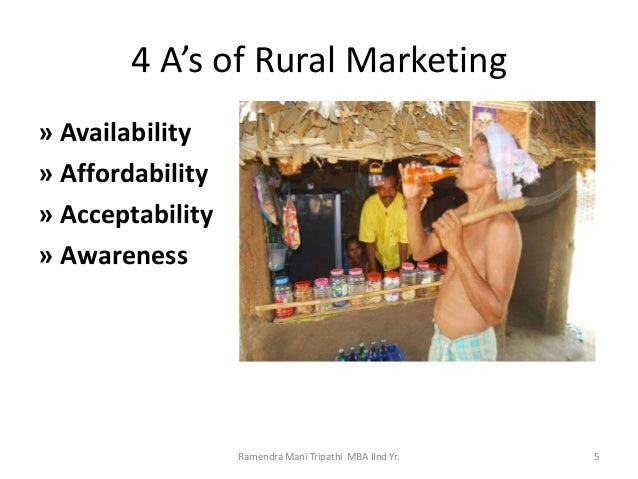 Rural Marketing Strategy by Pepsi (MBA Project)