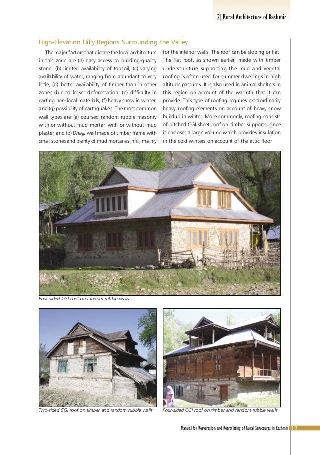 Rural Of Kashmir Architecture