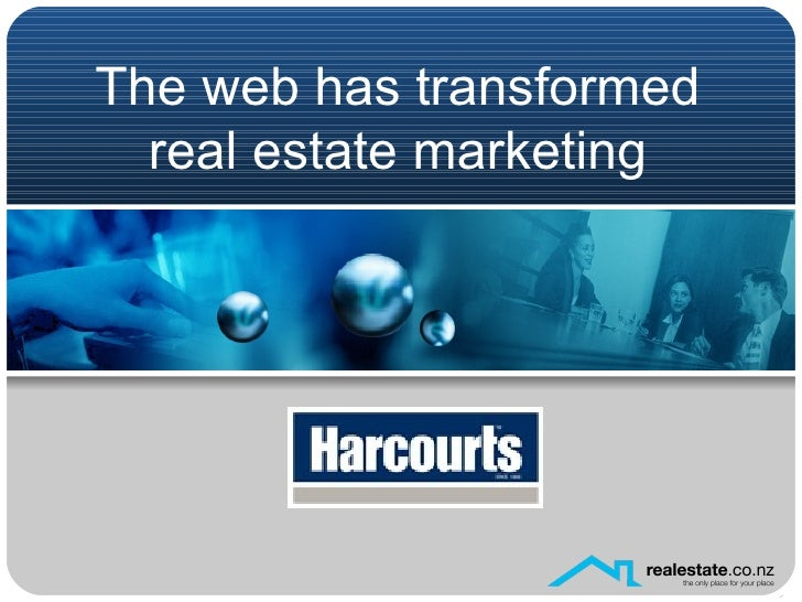 The web has transformed real estate marketing