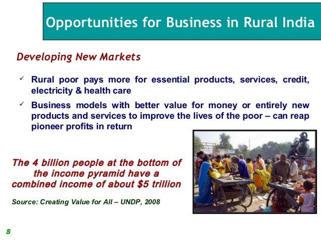 Rural retail