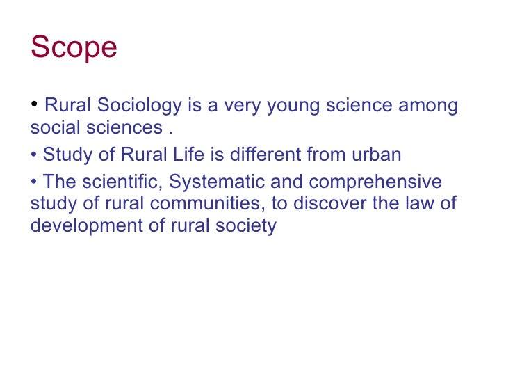 Rural Sociology Books Pdf