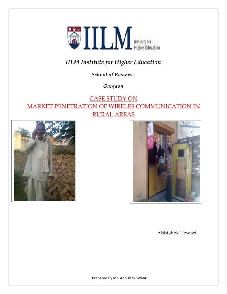 IILM Institute for Higher Education                     School of Business                           Gurgaon              ...
