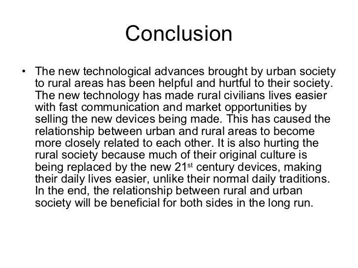 inequality between rural and urban schools