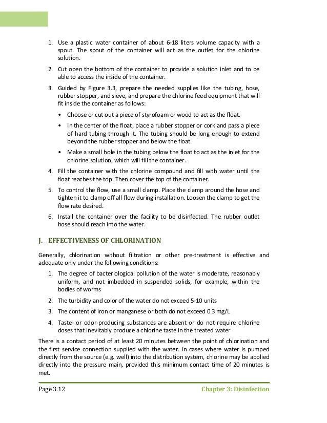 Rural water supply volume iii operation and maintenance manual – Maintenance Manual Template