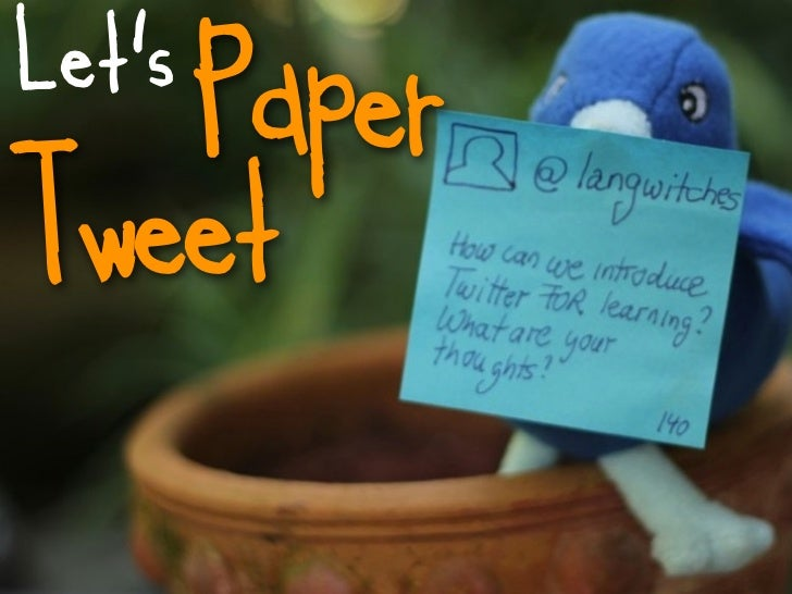 Let's   PaperTweet