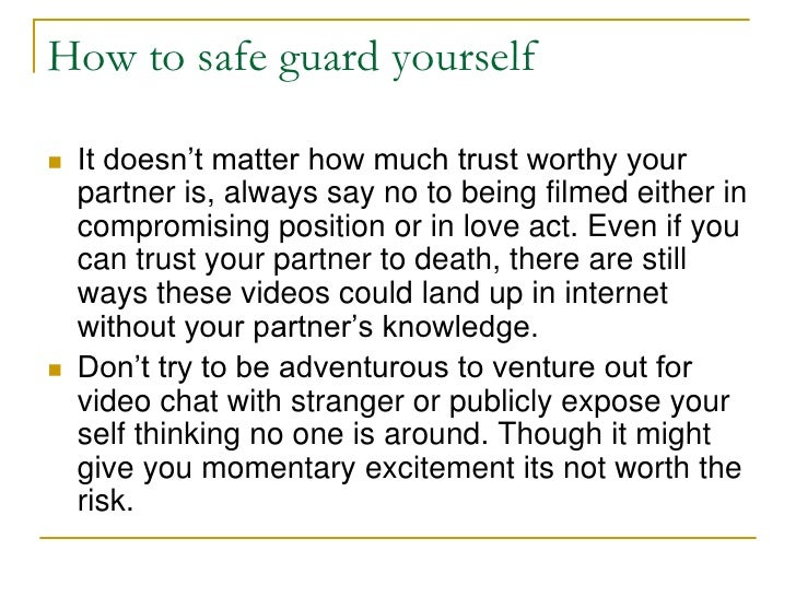 Safeguard yourself from porn