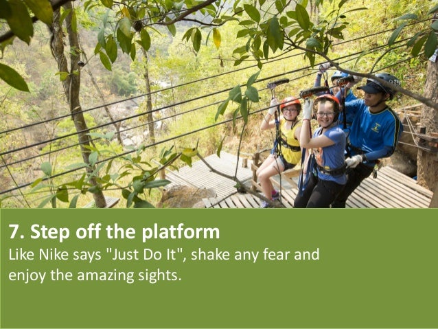 """7. Step off the platform Like Nike says """"Just Do It"""", shake any fear and enjoy the amazing sights."""