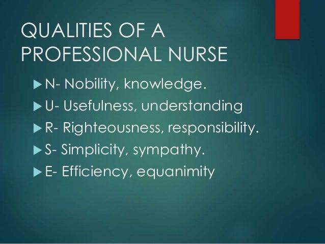 characteristics of professional nursing Professional nursing  powerpoint presentation  definition of nursing ana definition of nursing characteristics of a profession foundation of.