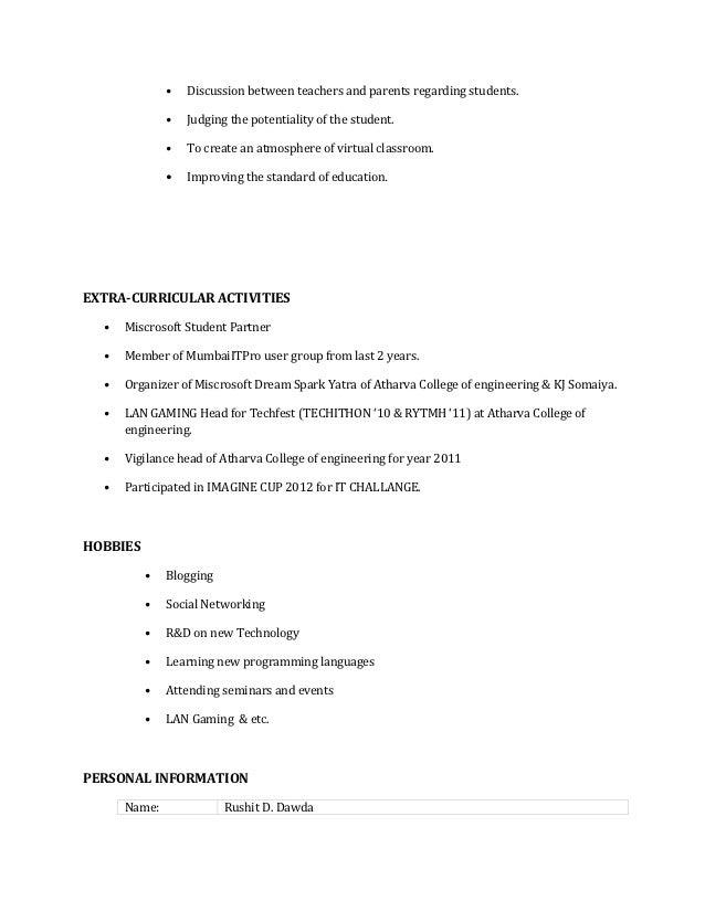 Rushit Resume