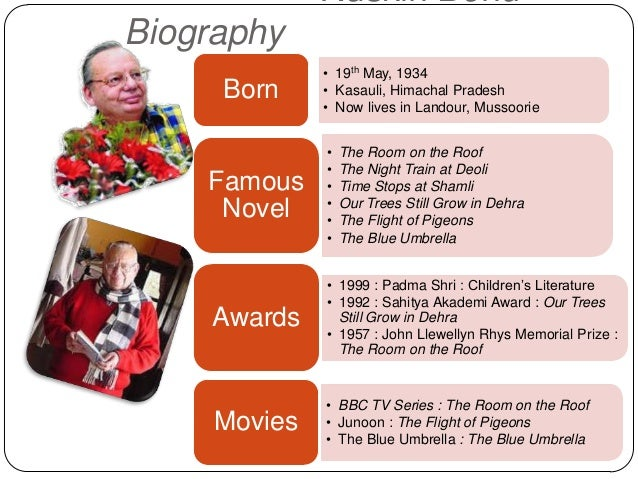 poems by ruskin bond A bond with the mountains : stories, thoughts, and poems ruskin bond and tapas guha 1998  1 1994 delhi is not far : the best of ruskin bond bond, ruskin ul.