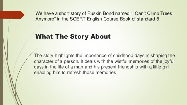 Ruskin bond short stories summary