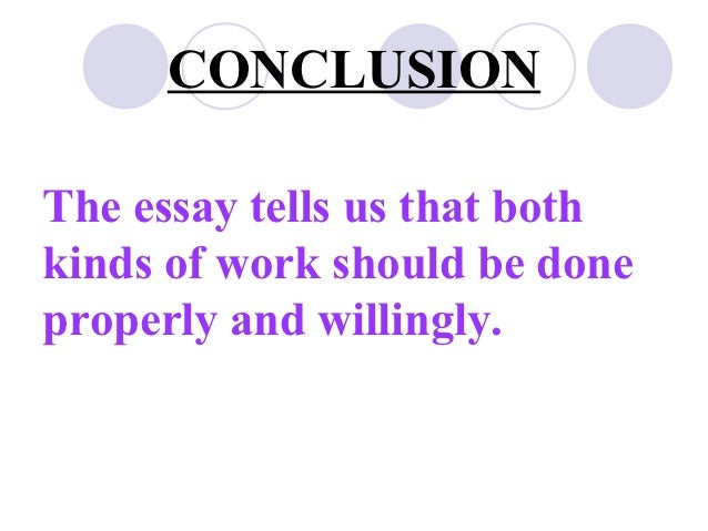 essay empty man and apposite man