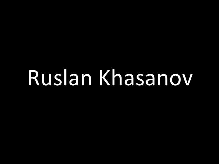 Ruslan Khasanov