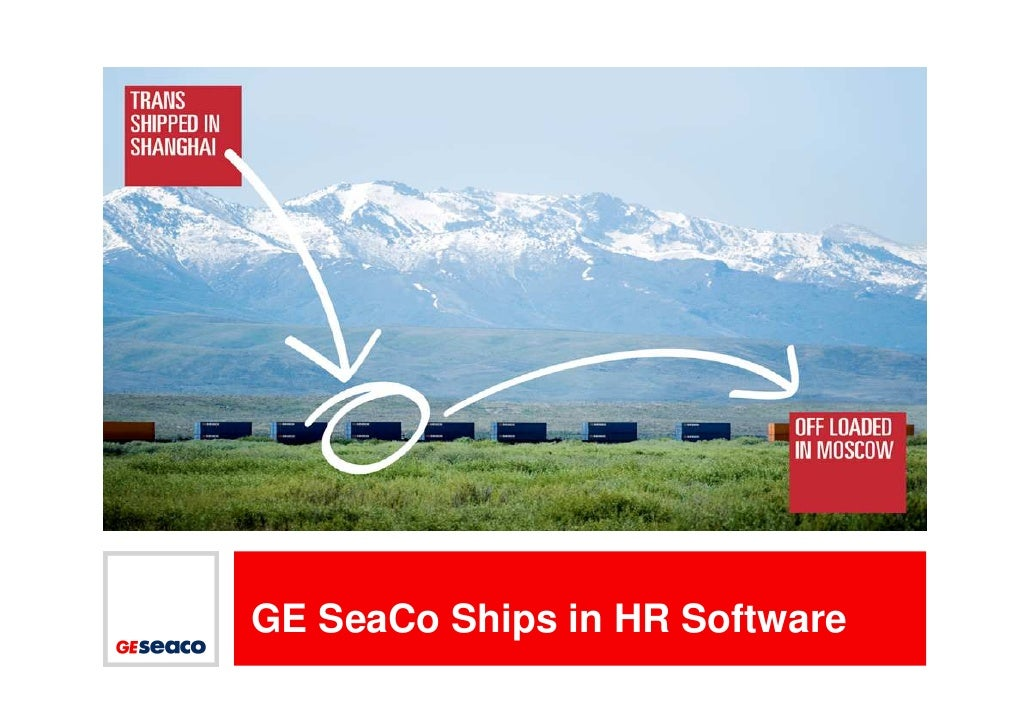 PICTURE HOLDER     GE SeaCo Ships in HR Software