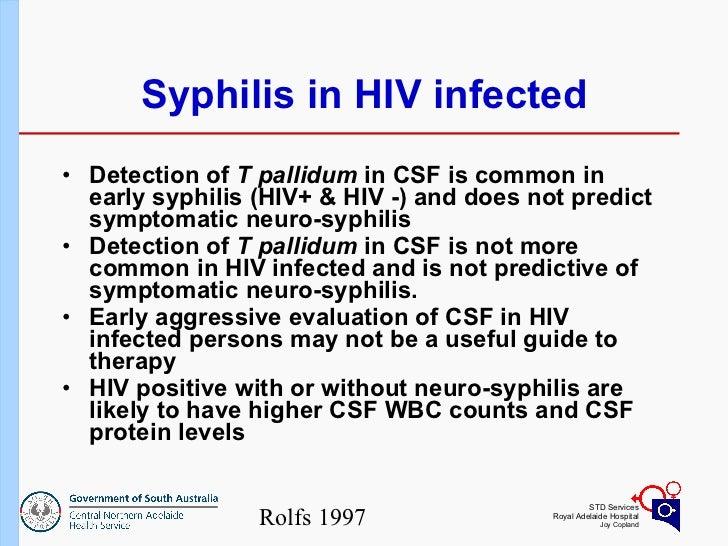 Syphilis - PowerPoint PPT Presentation