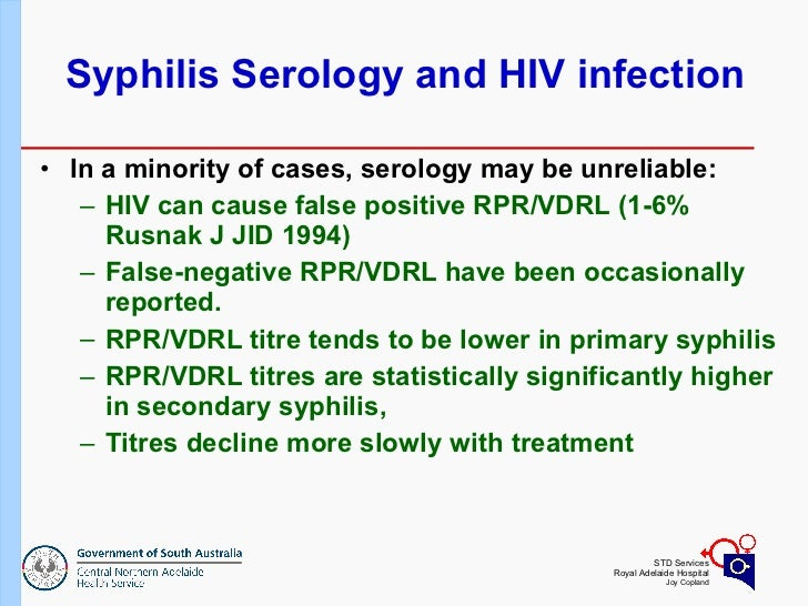 hiv and syphilis presentation Such atypical presentations are associated with a high risk of transmission as a   in patients with concomitant human immunodeficiency virus (hiv) infection.