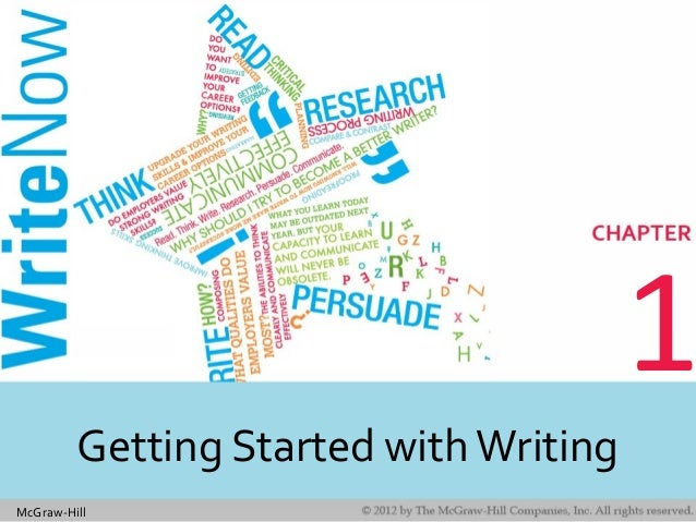 McGraw-Hill 1 Getting Started withWriting