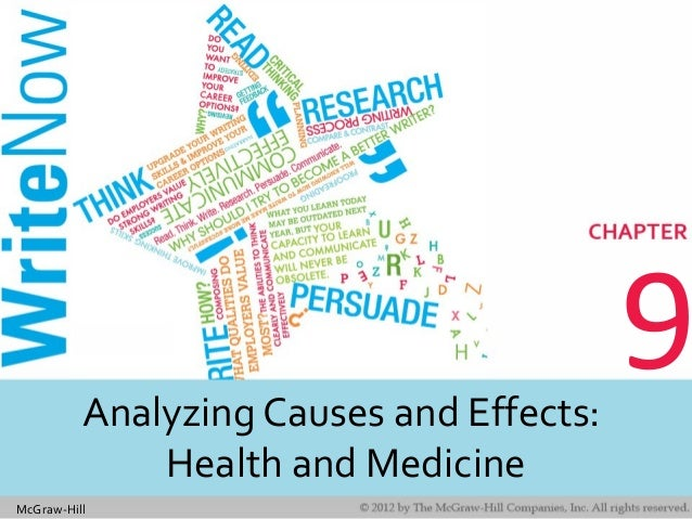 McGraw-Hill 9Analyzing Causes and Effects: Health and Medicine
