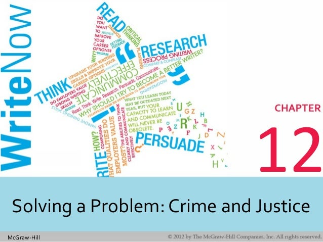 McGraw-Hill 12 Solving a Problem: Crime and Justice