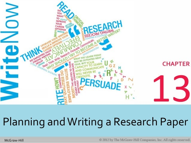 McGraw-Hill 13 Planning andWriting a Research Paper