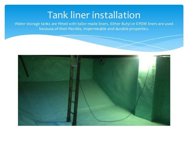 Russetts Developments Ltd Are Experts In Tank Liner