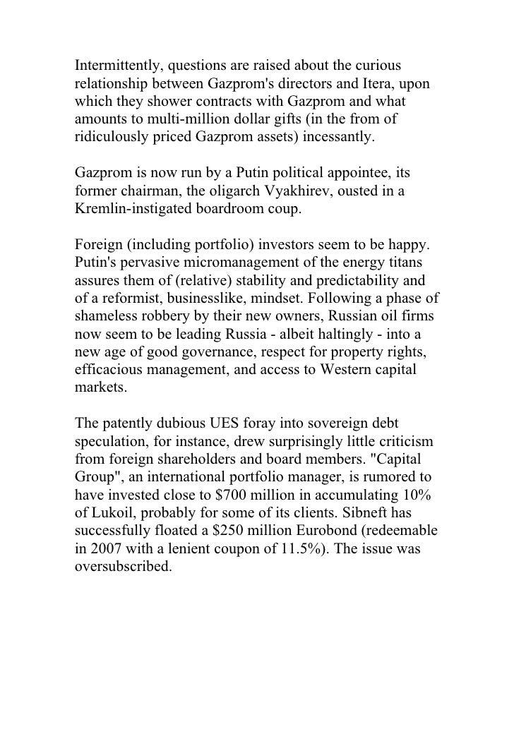 gazprom and itera Gazprom armenia, yerevan, armenia 453 likes gazprom armenia, formerly known as armrosgazprom, is a subsidiary of the russian gazprom company in.