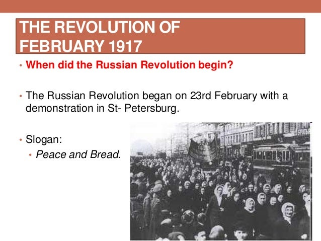 the details of the february revolution in russia in 1917 Forgot your details  search revolution of russia in 1917 word count  under control and therefore the 1917 february revolution succeeded in forced the.