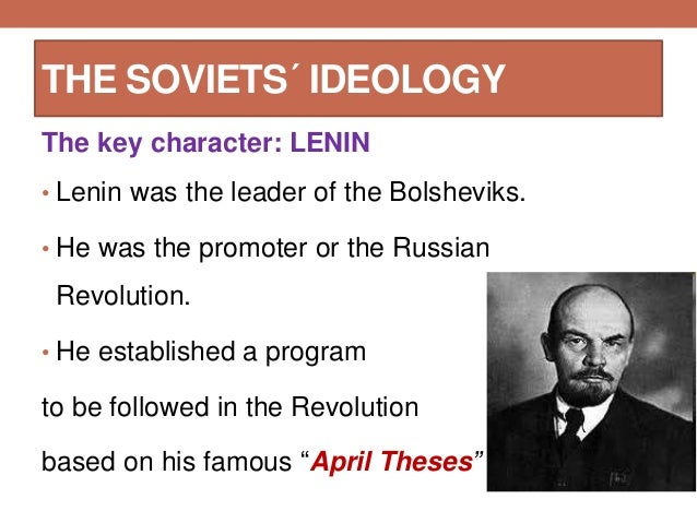 Explain Lenin's April Theses in short points. Lenin was in Russian Revolution