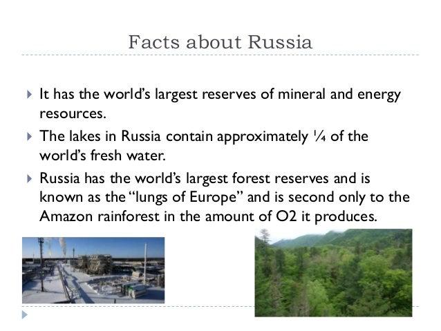 Russia: An Emerging Market